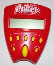 Radica Pocket Pocker Handheld Electronic Game Toy - $8.58