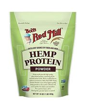 Bob's Red Mill Resealable Hemp Protein Powder 16 Ounce (Pack of 2) - $49.29