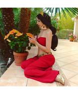 Princess Jasmine red outfit Jasmine costume for adults - $115.00