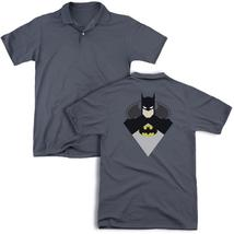 Batman - Simple Bat (Back Print) Mens Regular Fit Polo - $24.99+