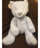 "JELLYCAT JELLY CAT PLUSH  15""  blue gray nose teddy bear mon petit  chou... - $23.33"