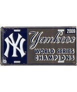 NEW YORK YANKEES 2009 WORLD SERIES CHAMPIONS LOGO  MLB  BASEBALL LICENSE... - $27.07