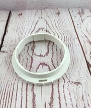 Presto Salad Shooter Genuine lock ring Models 0291001 & 0291003 OEM White - $10.89