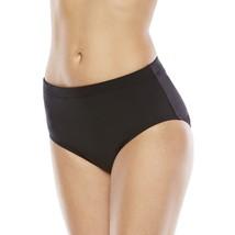 Apt 9 Swim Bikini Swimwear Bottom Brief Solid Black Plus Size 20 W 22W 24W - $9.99
