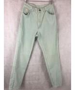 """Wrangler For Women Mint Jeans Size 8 Inseam 31"""" High Waist Straight Leg - $14.80"""