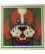 "Wonder Art Latch Hook Puppy Dog Kit 12"" x 12"" New - $18.99"