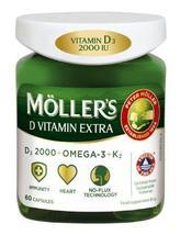 MÖLLER'S D Vitamin Extra, 60 Capsules - $49.99