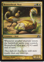 Magic The Gathering Bronzebeak Moa Card #60/156 - $0.99