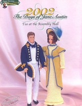 The Days of Jane Austin Tea At The Assembly Hall Barbie Doll Crochet Pattern - $10.77