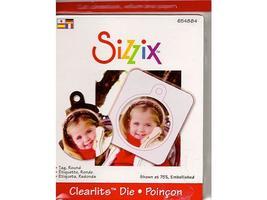 Sizzix-Clearlits Tag Round Die #65488