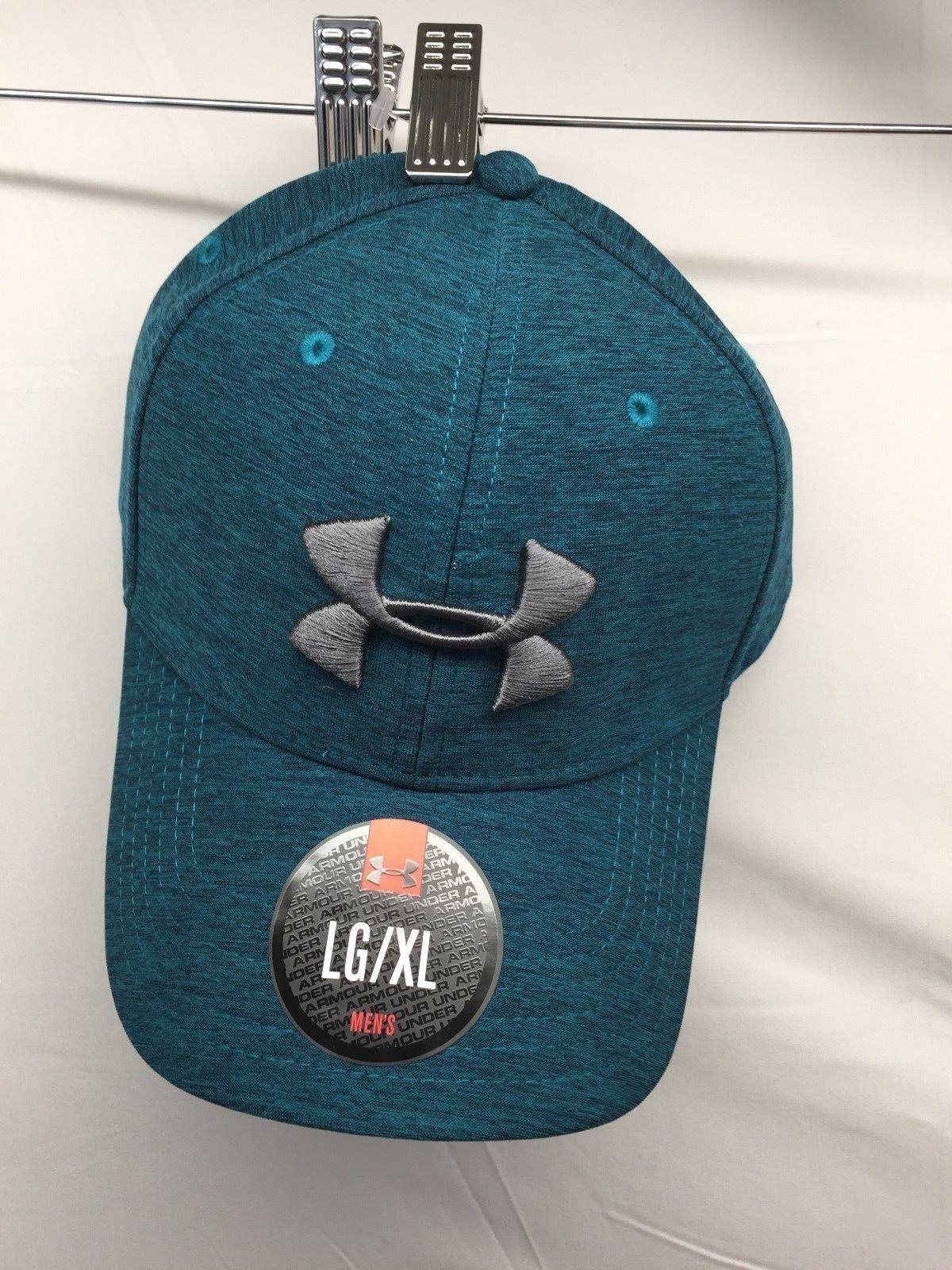 Under Armour Men s UA Twist Print Tech Closer Hat Cap turquoise 1273199-158  ... 05959a7d006