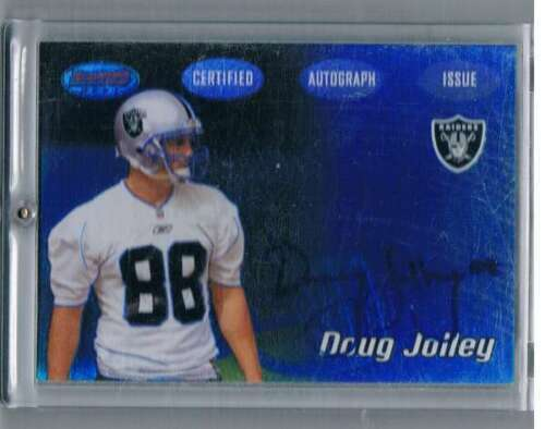 Primary image for 2002 Bowman's Best #131 Doug Jolley NM-MT NM-MT Rookie Card Auto Raiders
