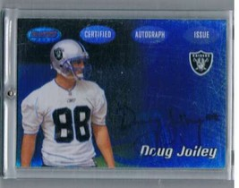 2002 Bowman's Best #131 Doug Jolley NM-MT NM-MT Rookie Card Auto Raiders  - $11.38