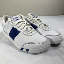 Reebok G Unit Sneakers Walking White Blue Women's 8 Rap Hip Hop 50 Cent - $39.99
