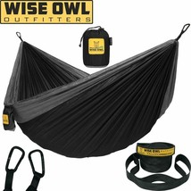 Wise Owl Outfitters Hammock Camping Double  Single With Tree Straps - Us... - $41.79+