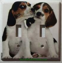 Beagle dog Light Switch Power Outlet Duplex Wall Cover plate Home decor image 3