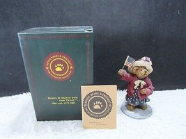 2001 Boyd's Resin Eleanore Bearsevelt...God Bless America Collectible Fi... - $9.95