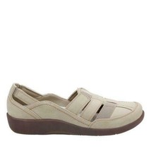 Cloudsteppers By Clarks Women's Sillian Stork Slip On Shoes Sand 8 M NWB - $39.60
