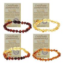 2019 Infant  Genuine Baltic Teething Bracelet Raw and Anklet Baby Beads ... - $33.90+