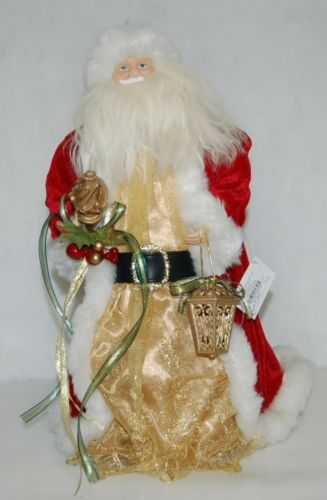 Sterling 382586 Traditional 16 Inch Santa Holding A Lantern And Staff