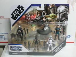 STAR WARS Mission Fleet The Mandalorian Cara Dune The Child IG-11 Stormtrooper  - $39.55