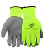 Westchester Touch Screen Hi-Vis Yellow PU Palm Coated Nylon Gloves (3-Pack) - $15.79
