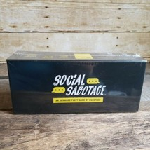 Social Sabotage An Awkward Party Game by BuzzFeed  for Ages 17 and up Ne... - $25.15