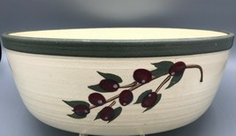 Olde Cape Cod Stoneware Cherry Patterned Large Bowl - $22.56