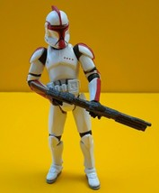 "STAR WARS ™ Clone Trooper Captain Deviss Action Figure 3.75"" 2003 Vintage - $15.21"