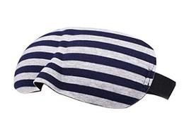 2Pcs Lovely Stripe 3D Sleep Eye Mask Eyepatch Blindfold Shade for Aid Cover Trav