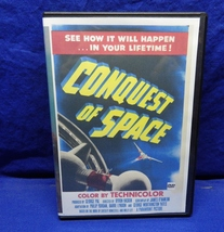 """Classic Sci-Fi DVD: Paramount Pictures """"Conquest Of Space"""" (1959) Nice - $12.95"""