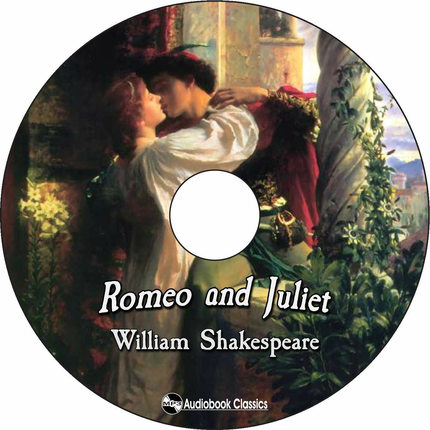 Primary image for Romeo and Juliet - Unabridged MP3 CD Audiobook in paper sleeve
