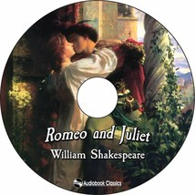 Romeo and Juliet - Unabridged MP3 CD Audiobook in paper sleeve - $3.95