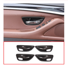 Style ABS Interior Door Bowl Cover Trim For BMW 5 Series F10 520 525 2011-2016 - $40.81