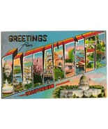 SACRAMENTO California 1952 Large Letter POSTCARD - $9.00