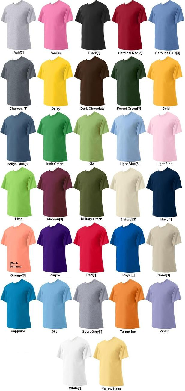 Gildan G200 T Shirt Colors - duashadi.com