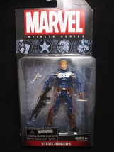 Hasbro 2013 MRvel Infinite Series Steve Rogers Action Figure - $12.87