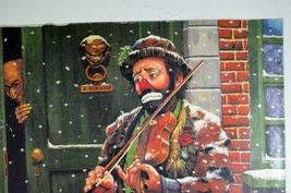 Unique Signed Artist Proof Leighton Jones Emmett Kelly Christmas Carol Scrooge image 3