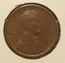 1909 VDB Lincoln Wheat Penny VF+ #0581 - $13.99