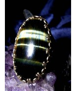 Magick Wealth Magnet Ring Draws Abundance & Blessings 2 You! Money haunted wicca - $499.99