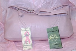 Stone Mountain Leather Hobo  Bag Breast Cancer Awareness - $27.50