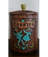 VINTAGE, TREASURE CRAFT DANCERS COOKIE JAR MADE IN USA 1962 COOKIE JAR