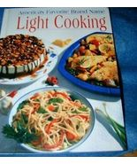 Americas Favorite Brand Name Light Cooking Cookbook - $7.50