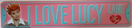 """I Love Lucy Lane Banner Sign 24"""" by 5"""" - $15.95"""