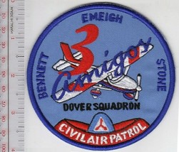 US Civil Air Patrol CAP Delaware Dover Squadron 3 Amigos Bennett Emeigh Stone US - $9.99