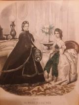 La Mode Illustree Bureaux du Journal 56 Rue Jacob Paris 1862 - $59.40
