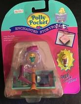 Polly Pocket Enchanted Storybooks Glitter Bedroom Locket New Sealed + Charm 1995 - $349.99