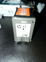 Genuine HP 27 Black Ink Cartridge [Unused] New Best Used by date 1/2020 NO BOX - $9.85
