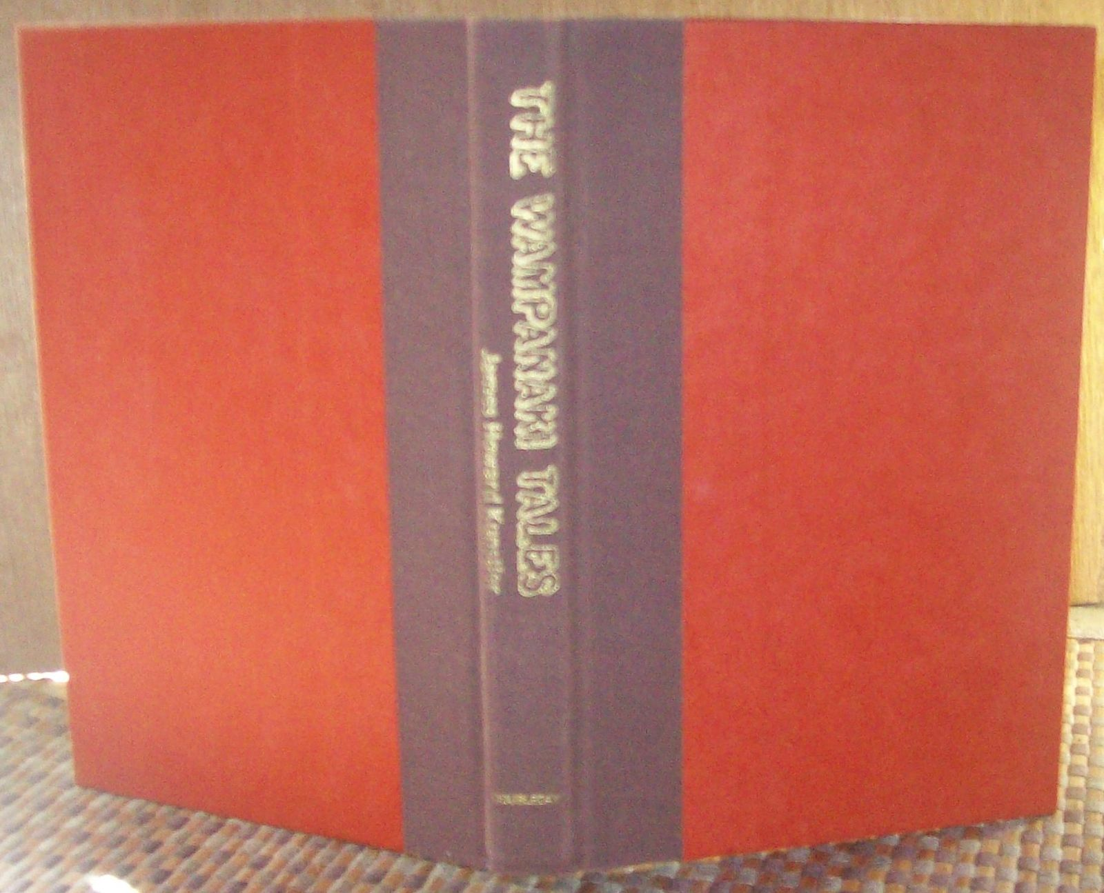 The Wampanaki Tales by James Howard Kunstler 1979 HBDJ 1st