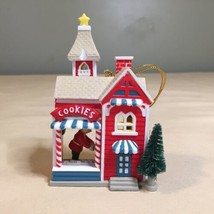 1991 National Rennoc Christmas Tree Ornament Elf Baking Cookies  - $6.92